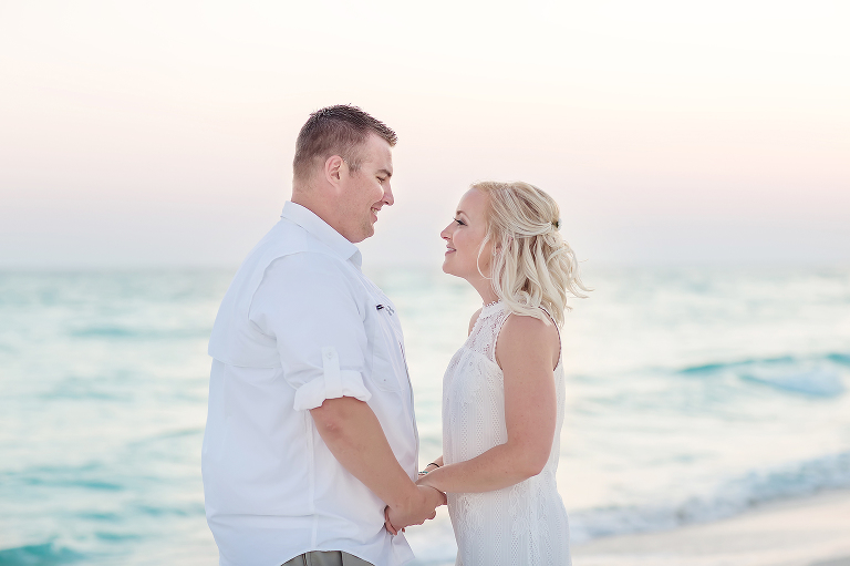 Sunset Wedding Bride and Groom Portraits