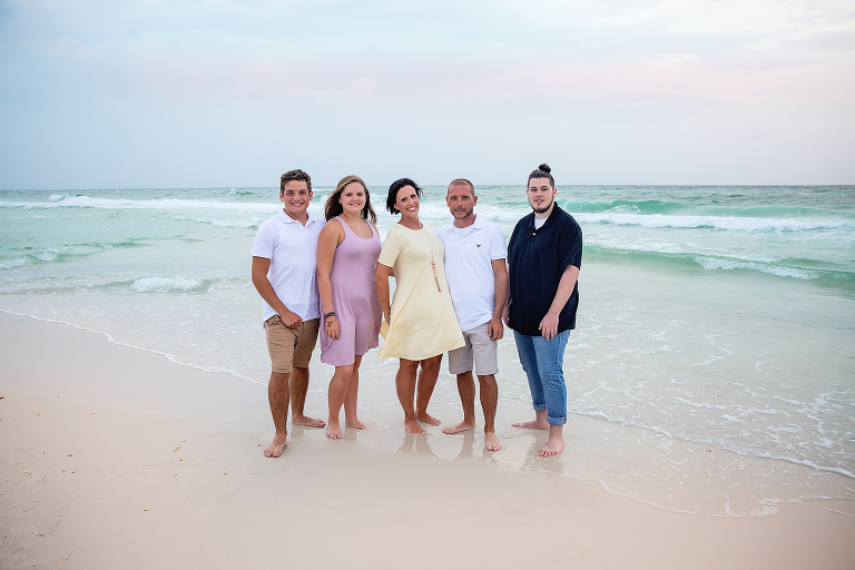 Extended Beach Photo Session in Panama City Beach