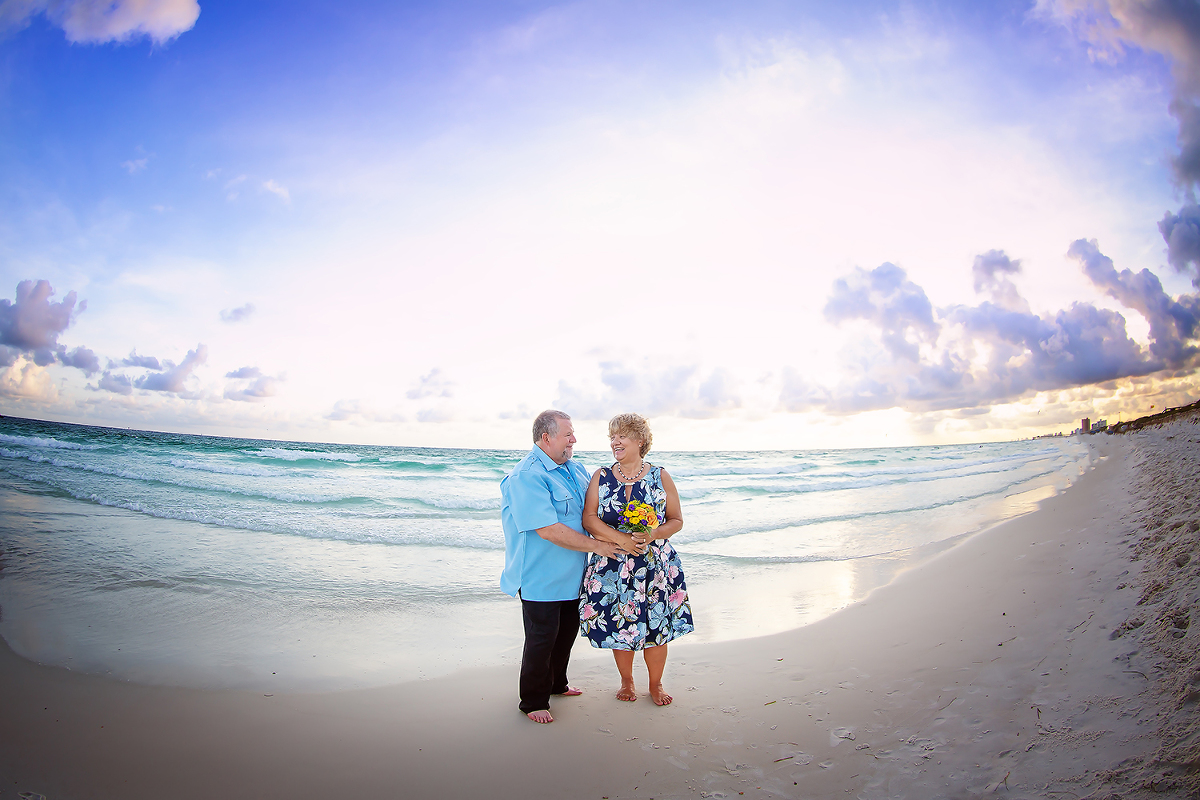 Beach Session Vow Renewal